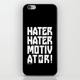 Hater iPhone Skin