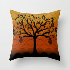 Fruits Talk Throw Pillow