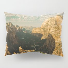 Zion Mornings - 127/365 National Parks Pillow Sham
