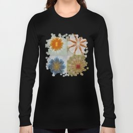 Fulvous Certainty Flowers  ID:16165-113635-96480 Long Sleeve T-shirt
