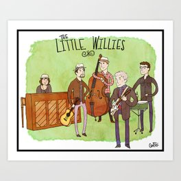 The Little Willies Art Print