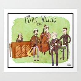 The Little Willies Art Print
