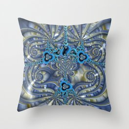 Filigrees and Spirals Throw Pillow