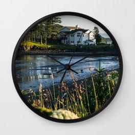 Small Alaskan Wildflowers pt.3 Wall Clock
