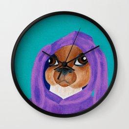 Bunny Ears Wall Clock