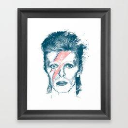 So Long Bowie.... Framed Art Print