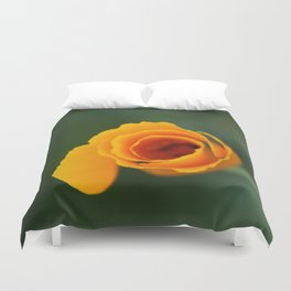 California Poppy Dreaming 2 Duvet Cover