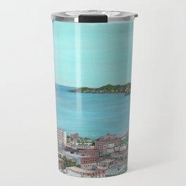 Ocean Lynn Massachusetts Nahant Egg Rock City Travel Mug