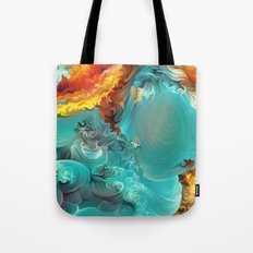 Mineral Series - Rosasite Tote Bag