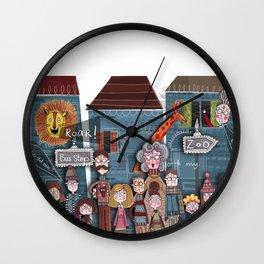 Field Trip 1 Wall Clock