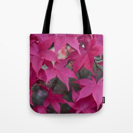 Autumn Reds Tote Bag