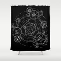 games Shower Curtains featuring Games by qabot