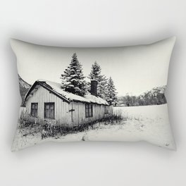 Trees on the roof Rectangular Pillow