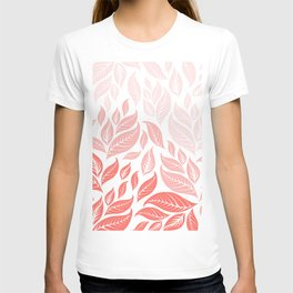 LIVING CORAL LEAVES 3 T-shirt