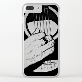 Six Strings Clear iPhone Case