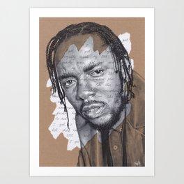 DNA - Kendrick Lamar Art Print