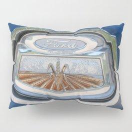 Vintage FORD Truck Badge Pillow Sham