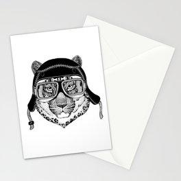 Leopard Speed Rebel Stationery Cards