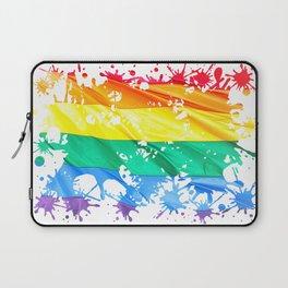 LGBTQ Splatter Laptop Sleeve
