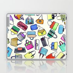 colored bags obsession Laptop & iPad Skin
