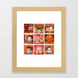 Sweet Autumn Framed Art Print