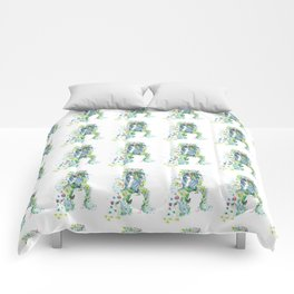the forest girl Comforters