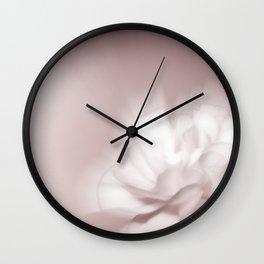 Pink whisp Wall Clock