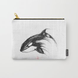 Killer Whale Carry-All Pouch