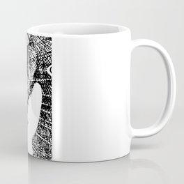 Nude Peacock Woman Coffee Mug
