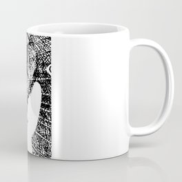 Nude Peacock Woman Coffee Mug