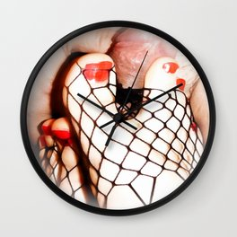 FOOT JOB FEET FUCKING BDSM KINKY Wall Clock