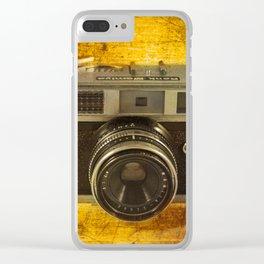 Rank Mamiya Rangefinder Clear iPhone Case