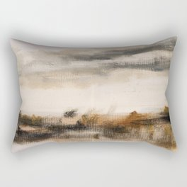 Steppe landscape Rectangular Pillow