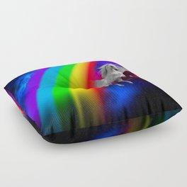 Unicorn & Rainbow Floor Pillow