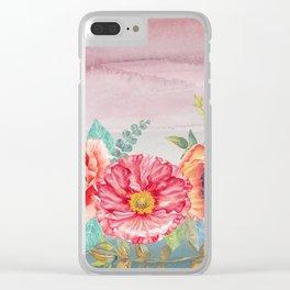 Flowers bouquet 74 Clear iPhone Case