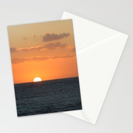 Sunset at Great Barrier Reef Stationery Cards