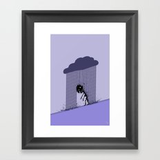 Heavy Rain Framed Art Print