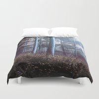 wanderlust Duvet Covers featuring Wanderlust by StayWild