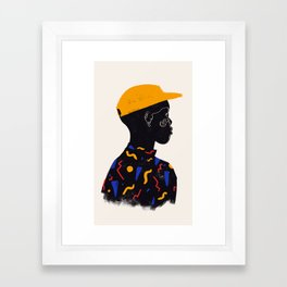 Yellow one Framed Art Print