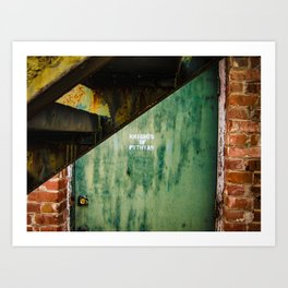 Knights of Pythias - Secret Entrances Art Print