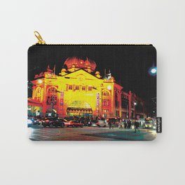 Flinders Street Station at night Carry-All Pouch