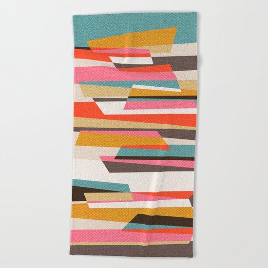 Fragments VII Beach Towel
