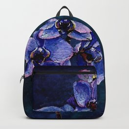 Orchids of the night Backpack