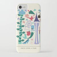 once upon a  time iPhone & iPod Cases featuring Once Upon a Time by Abbie Imagine