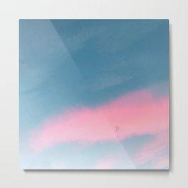 Pink sunshine Metal Print