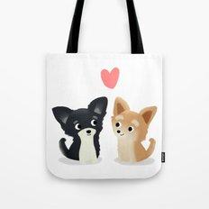 Chihuahua Love - Cute Dog Series Tote Bag