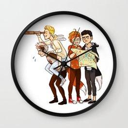 Five Lost Boys Wall Clock