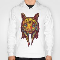 rare Hoodies featuring BE RARE* - Iberic Lince by Vasco Vicente