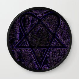 Nightmare Heartagram Wall Clock