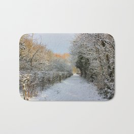 Winter Walkway Bath Mat